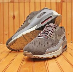 2012 Nike Air Max 90 EM Size 12 - Cool Grey Red Red Speckle - 554719 001