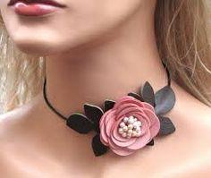 Image result for flower leather