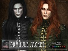 Granule Jacket by RemusSirion at TSR • Sims 4 Updates