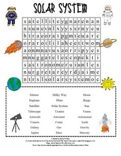 1000+ images about Science on Pinterest | Word search ...