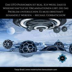 UFO russischer Präsident Michail Gorbatschow