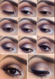 everyday-eye (and smokey eye) featuring Tease for the crease, YDK for the lid, Chopper for highlighting, Busted for the lower lash line, Foxy for the brow bone, Verve for the inner corner and Blackout for the outer crease from the #Naked2 eyeshadow palette