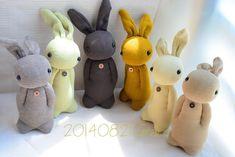 Sock rabbit - idea only no pattern