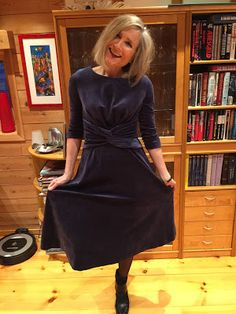 Ellen's Sewing Passion: Knotted Midi-Dress