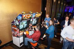 Harley Davidson Arcade Game available for corporate events.