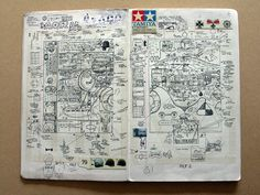 Sketchbook 3, page 12
