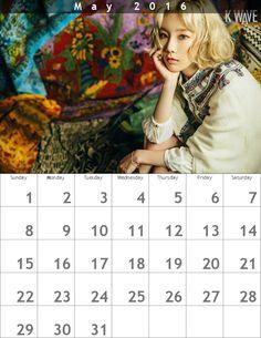 テヨンカレンダー618 x 800 ʕ・ᴥ・ʔღ 1605 - Taeyeon Candy News ☺ Snsd