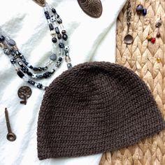 Brown Nalbinding Hat Naalbinding Viking Norse by BoneandBirchNW