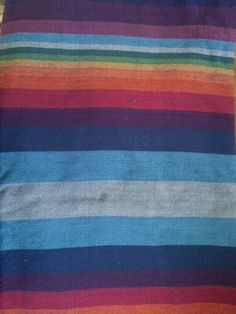 Girasol Double Rainbow capitan weft size 6, 4.6m 100% cotton