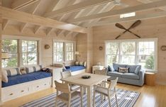 Interior of Apartments above Garage | Garage Apartment - wood interior | Log home