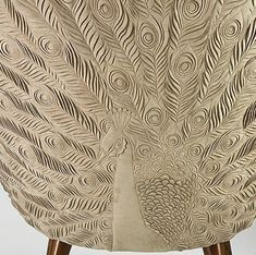 Helen Amy Murray's surface reliefs on everything from chairs to headboards to walls are just unbelievably gorgeous. The detail is just as amazing as the overall effect.