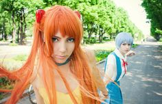 Asuka and Rei cosplay by Kawaielli.deviantart.com on @deviantART