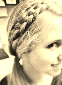 halo braid!