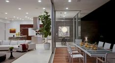 Heavenly Beverly Hills House Featuring A Vibrant Natural Design----Located in Beverly Hills, California, this residence is a remodel of an existing home originally built in the 1970s. The remodel was a project by McClean Design