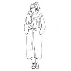 one line drawing 〰i so like @dudeellen honesty and her warm words. och hon är så vacker! remember, everything is connected ✨ #illustration #illustrator #oneline #drawing #fashionillustration #fashionblogger #blackink #linework #sketch #doodle #girl #instaart #bw #simplicity #minimalism