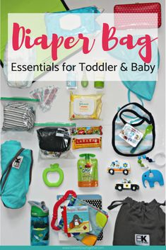 Diaper Bag Essentials for Toddler and Baby - Live Well Play Together Baby Registry Essentials, Diaper Bag Essentials, Kid Essentials, Travel Essentials, Diaper Bag Backpack, Diaper Bags, Buy Backpack, Diaper Bag Checklist, Toddler Bag