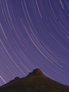 Beautiful time lapse shot of Karoo stars.