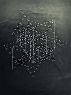 Look 1, NCP: framework, geometric, location, texture.   Black drawing 4