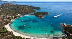 Les plus belles plages de Corse | Vanity Fair Santa Giulia, Vanity Fair, Ville France, Corsica, France Travel, Places To See, Road Trip, Paradise, To Go