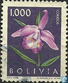 Bolivia [BOL] - Flowers 1962