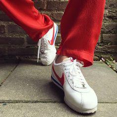 Sneakers femme - Nike Cortez (©fash_n_chips)
