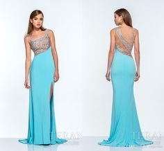 Lds Prom Dresses 2015 Sexy Side Split Chiffon Prom Dresses Crystal Beaded Scoop Neck Sleeveless Cocktail Dresses Floor Length Charming Party Dresses Ah07 Western Prom Dresses From Engerlaa, $128.68| Dhgate.Com