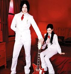 The White Stripes--Love Jack White Meg White, Jack White, The White Stripes, The Great White, Alternative Music, Funny Movies, Shades Of White, Music Is Life, Future Husband