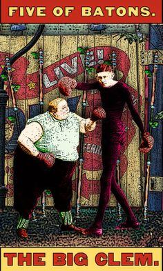 Tarot of the Zirkus Mägi: Let's You and Him Fight!