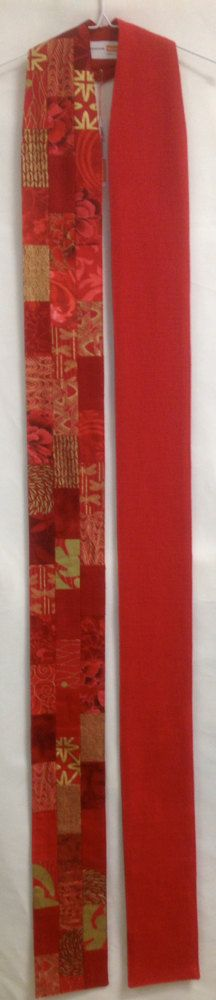 Contemporary Red Lystra Clergy Stole R50 by jeffwunrow on Etsy, $220.00