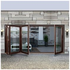 Dale High Performance 431 Style Brio Bifold 4 Door u0026 Frame Set - Fully Decorated. #externalfodlingdoor #externaldoors #foldingdoors & Dale High Performance 523 Style Brio Bifold 5 Door u0026 Frame Set ...