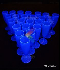1000 images about soir e ap ro lumineux on pinterest - Flute a champagne led ...