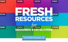 Fresh Resources For Web Developers – March 2015