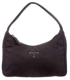 b0e4bc4247a8 Black Prada Purse, Prada Purses, Prada Handbags, Prada Tote Bag, Prada  Tessuto
