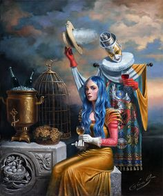 Michael Cheval - Fleeting Echo of the Golden Age