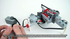 A 6-Speed Transmission Build Entirely From LEGO