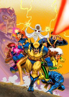 The X-Men Animated Collection // artwork by David Nakayama (2009)