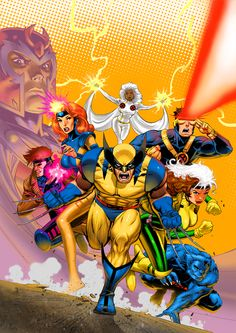 The X-Men Animated Collection // artwork by David Nakayama (2009)