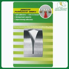 Metal Towel Hook HT19  #adhesivehook #metalhook  http://www.gzprodigy.com/product-category/hook/adhesivehook/