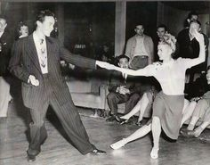 Vintage Dance Photos on Pinterest | Lindy Hop, Swing Dancing and ...