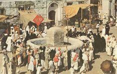 Makkah Old Pictures, Islamic Wallpapers Islamic Sites, Islamic Art, Mecca Masjid, Pilgrimage To Mecca, History Of Islam, Art History, Mekkah, Beautiful Mosques, Beautiful Places