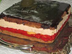 Domowe ciasta i obiady: Ciasto Truskawka w czekoladzie