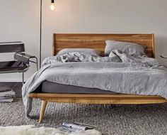 Contemporary Scandinavian design bedroom