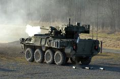 M1128 Stryker Mobile Gun System vehicle