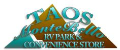 A small rv park in El Prado (Taos) New Mexico. Great folks own & run it. Great folks choose to stay here.