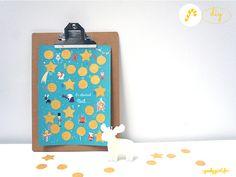 DIY UN calendrier de l'Avent à gratter : chaque jour une petite activité, un petit cadeau à découvrir ! A imprimer