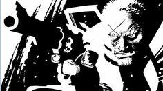 Frank Miller - Sin City: That Yellow Bastard, Vol 3 - Hartigan Comic Book Artists, Comic Book Characters, Comic Artist, Comic Books Art, Comic Character, Dc Comics, Anime Comics, Sin City Comic, Frank Miller Art