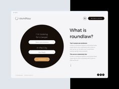 Roundlaw website by SELECTO
