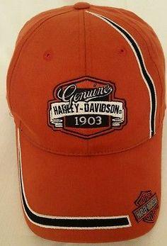 BERWYN, IL Harley-Davidson Men's Embroidered Orange Baseball Cap Hat Adjustable Harley Gear, Harley Davidson Merchandise, Orange Aesthetic, Harley Davidson Bikes, Caps Hats, Baseball Cap, Shopping, Store, Clothes