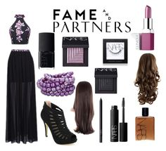 """""""Hello Homecoming with Fame & Partners: Contest Entry"""" by dalyia-1 ❤ liked on Polyvore featuring Fame & Partners, Clinique and NARS Cosmetics"""