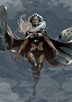 Storm is a mutant with the ability to perceive and manipulate the forces and elements that govern weather